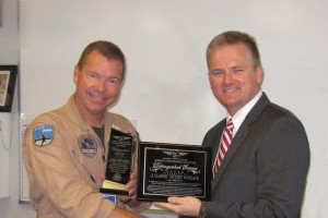 "Clarke ""Otter"" McNeace, Recipient of the Distinguished Service Award of Aviation Excellence"