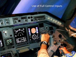 Use of Full Flight Controls