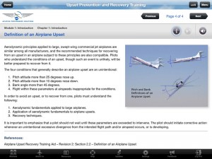 APS iPad UPRT Screenshot