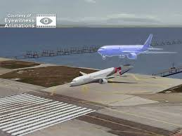 Correct position on glidepath vs. Asiana Flight 214 point of impact