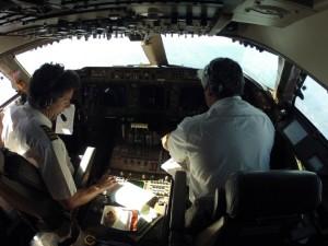Cockpit 747