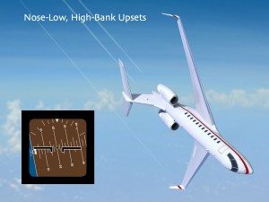 Nose-Low High-Bank Upset