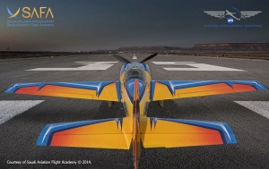 SAFA Extra 330LX Taking Off to Deliver APS Upset Training