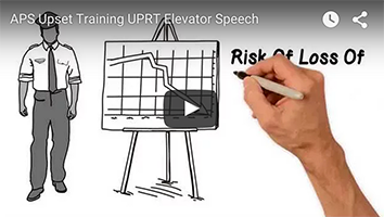 APS UPRT Upset Training Elevator Speech
