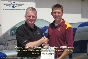 2012 APS Scholarship Winner