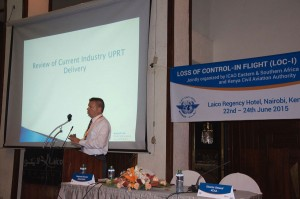 APS speaks at ICAO air safety event in Nairobi.