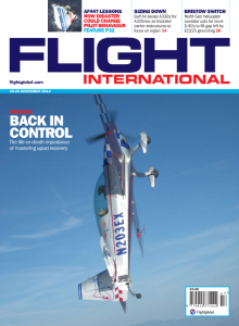 Cover Flightglobal Magazine