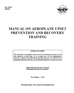 Manual On Aeroplane Upset Prevention and Recovery Training
