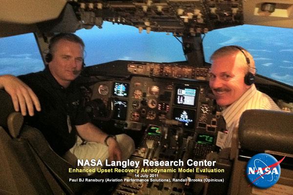 NASA VSST Upset Recovery Simulator Evaluation