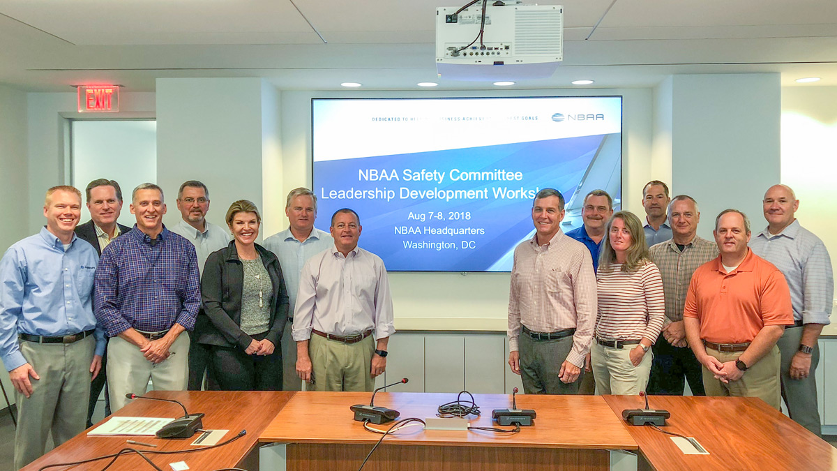 2018 NBAA Safety Committee Bi-annual Leadership Planning