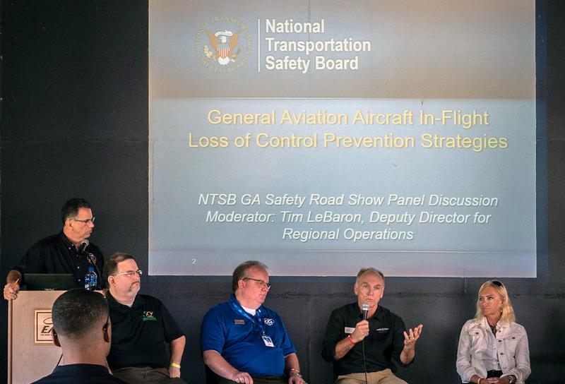 NTSB Roadshow at EAA 18