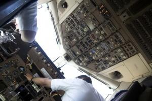 Overbanked Cockpit