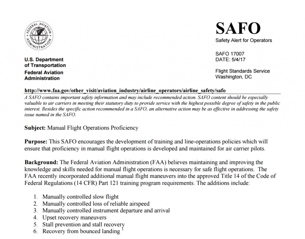 SAFO 17007