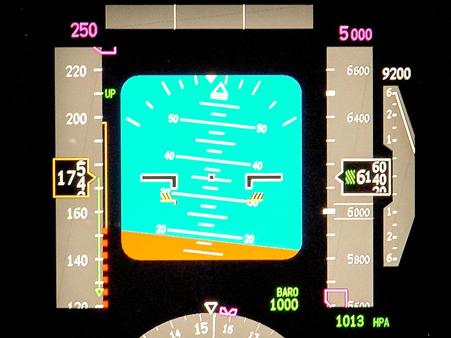 Nose High Airplane Upset Scenario.