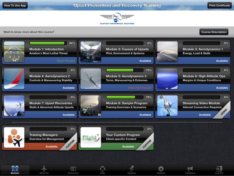 UPRT iPad