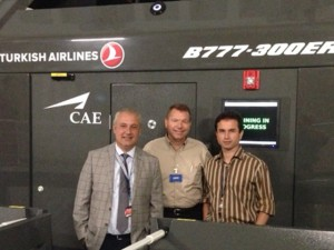 APS Demos ICAO UPRT at Turkish Airlines