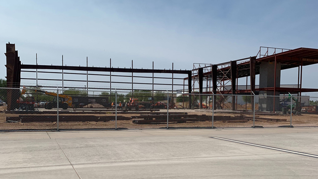 Hangar Main Frame
